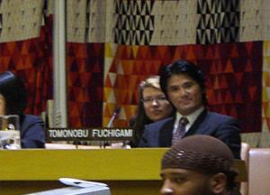 国連本部「コモンヒューマニティ会議」にてスピーチ